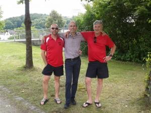 TSV Team Racer im Ziel des 24-Stunden-Rennen in Kelheim