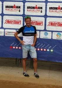 Allen Grund zur Freude hatte Hardy Wiedemann beim Ironman Barcelona