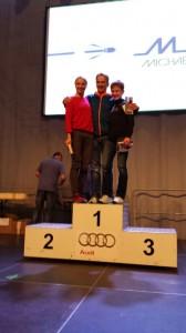 Mit seiner schnellen Halbmarathonzeit von 1:20 Stunden sicherte sich Hardy Wiedemann den Sieg seiner Altersklasse im stark besetzten Rennen.