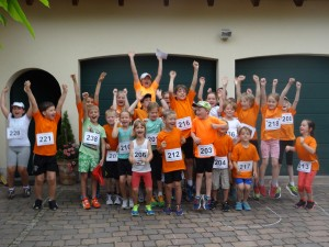 Große Harburger Beteiligung beim Dorflauf Ebermergen!