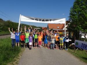 Ein voller Erfolg der Tria-Kids beim Fetten Reifen Rennen!
