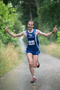 Schnellster Läufer auf dem Bock: Andreas Beck der LG Zusam, Foto: Fotodesign-Schremmel