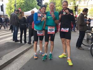 Glückliche Finisher in Mailand