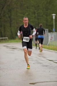 Ulf Zimmermann auf der Laufstrecke